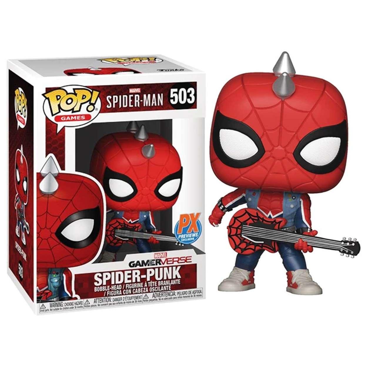 Spider Punk #503 Spiderman Gamerverse Funko Pop! Px Previews