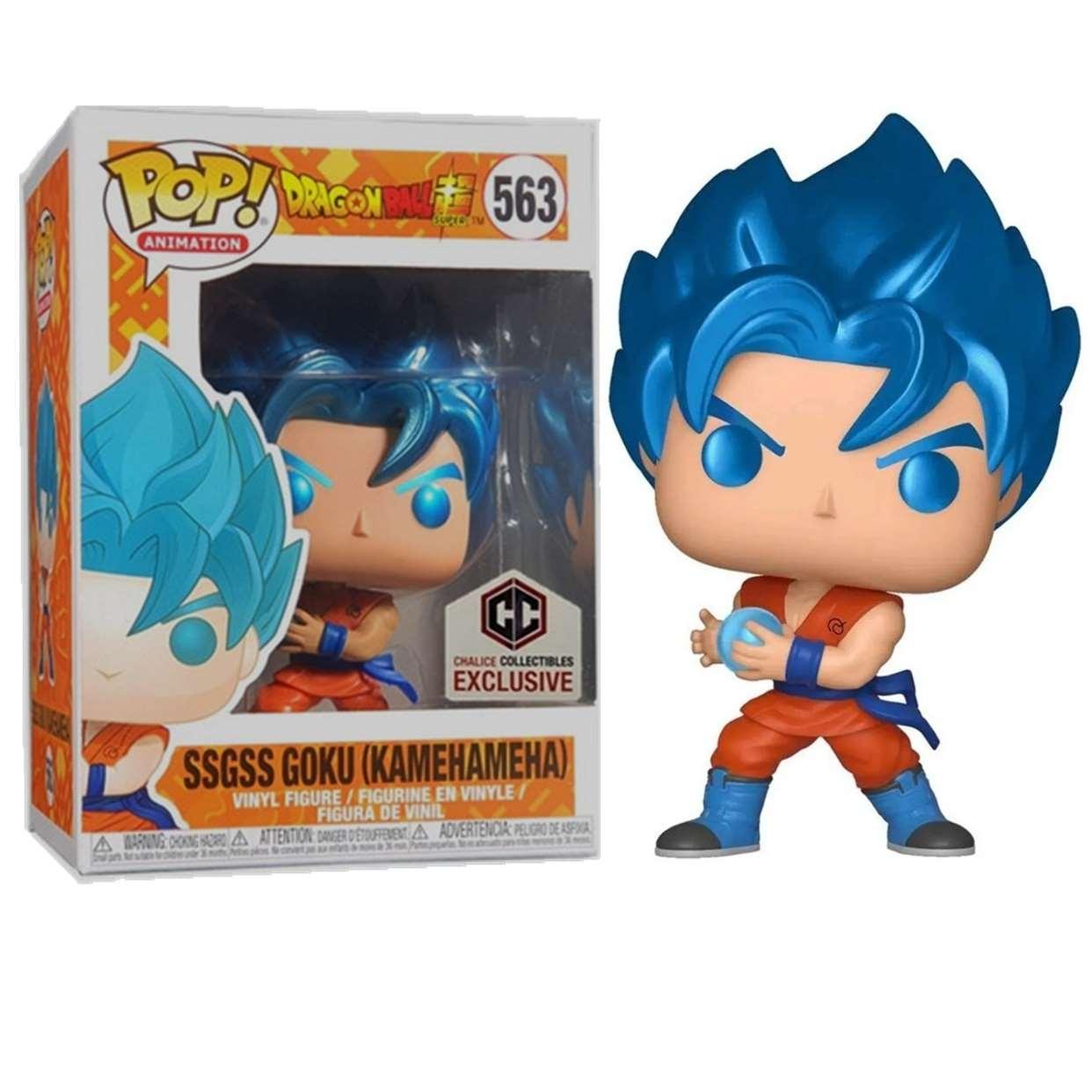 Ssgss Goku Kamehameha #563 Dragon Ball Z Super Funko Pop!