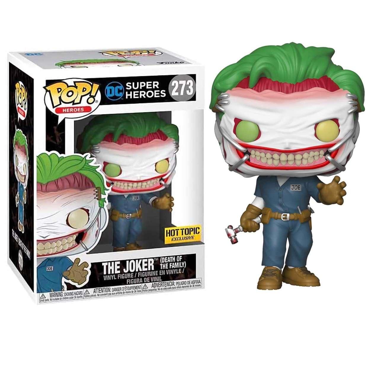 The Joker #273 Super Heroes Funko Pop! Exclusivo Hot Topic
