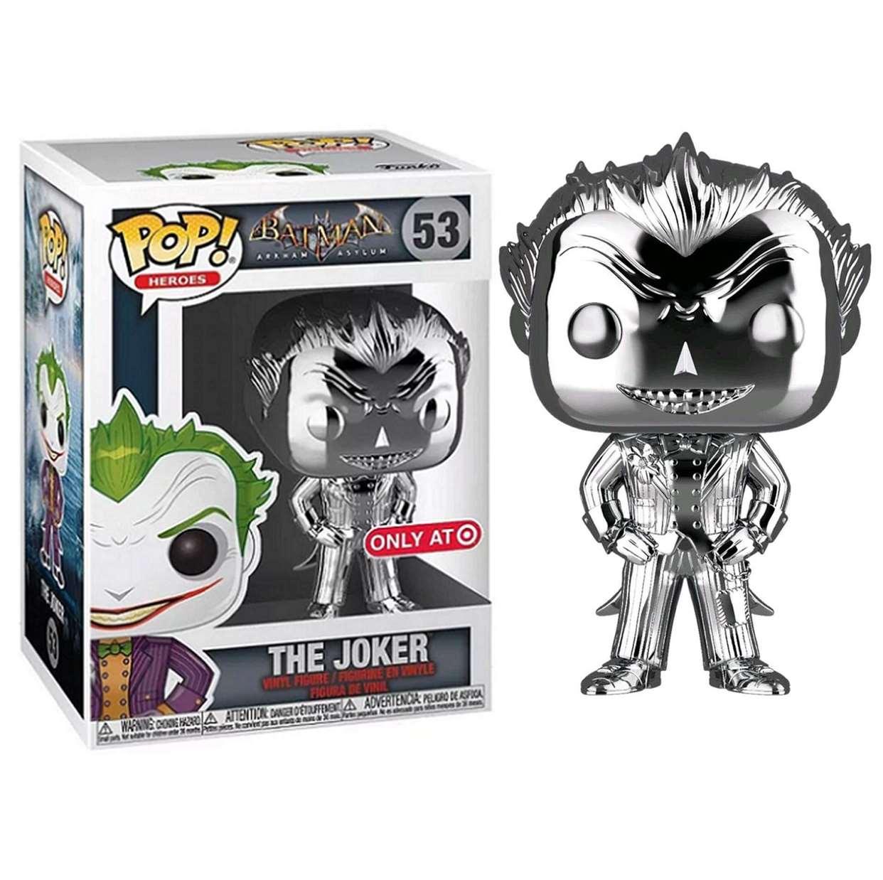 The Joker Gray #53 Batman Arkham Asylum Funko Pop! Exclusivo Target