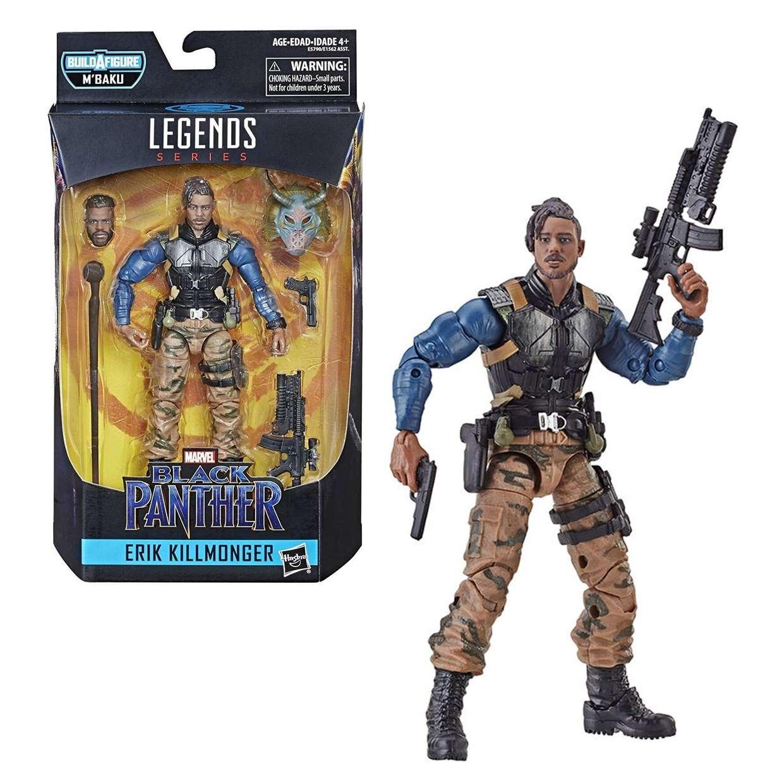 Erik Killmonger Figura Black Panther B A F M' Baku Legends