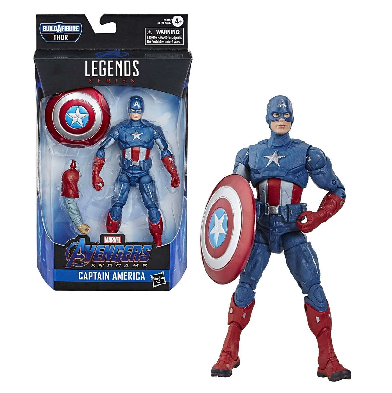 Capitán América Figura B A F Thor Avengers End Game Legends