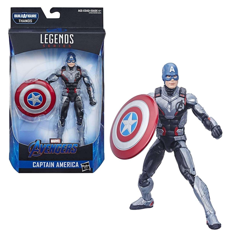 Capitán América Figura B A F Thanos Avengers End Game  Legends