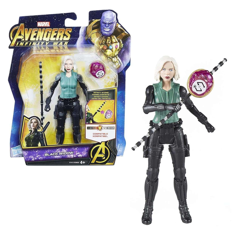 Black Widow Marvel Avengers Infinity War Gemas Del Infinito
