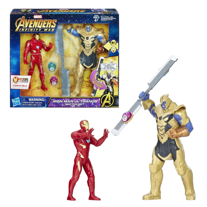Iron Man Vs Thanos Marvel Avengers Infinity War Battle Set