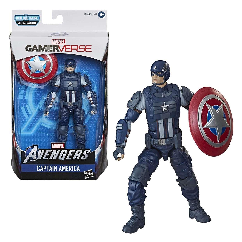 Capitán América Figura B A F Abomination Avenger Gamerverse