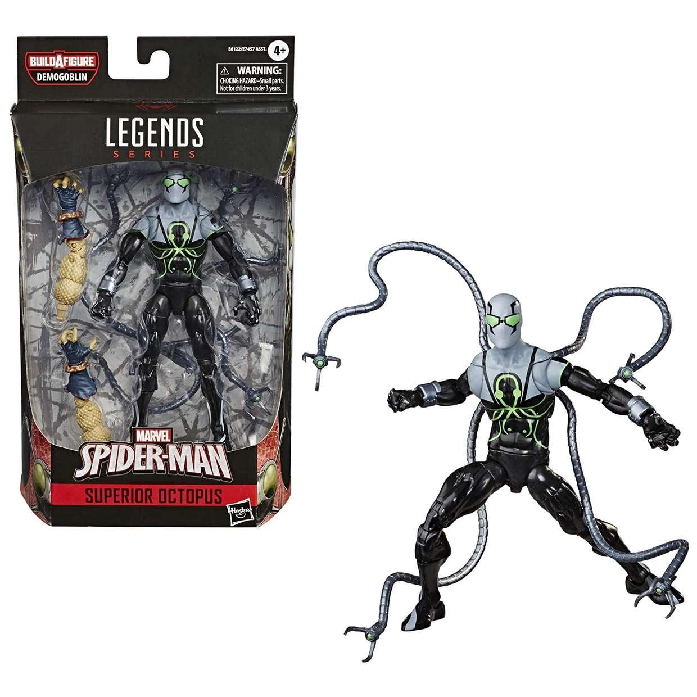 Superior Octopus Figura B A F Demogoblin Spider Man Legends