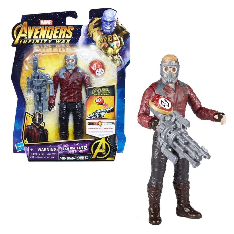 Star Lord Figura Marvel Infinity War Gemas Del Infinito