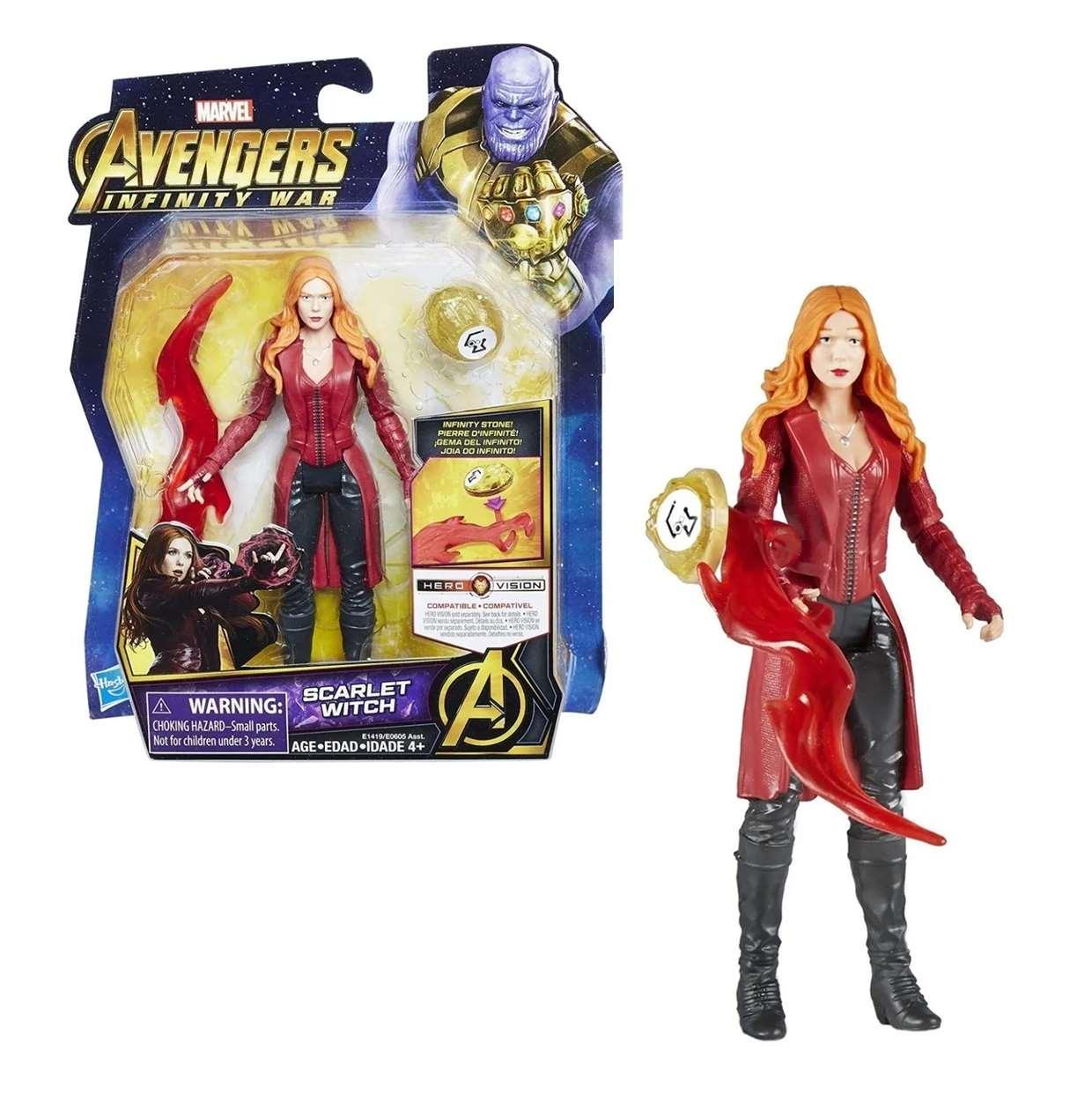 Scarlet Witch Figura Marvel Infinity War Gemas Del Infinito