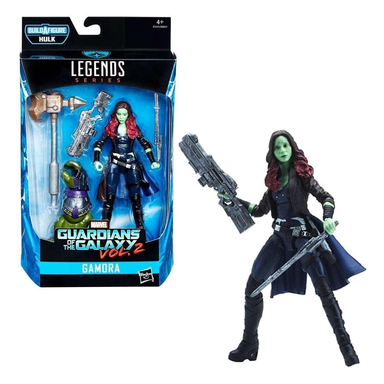 Gamora Figura B A F Hulk Guardianes De La Galaxia Legends