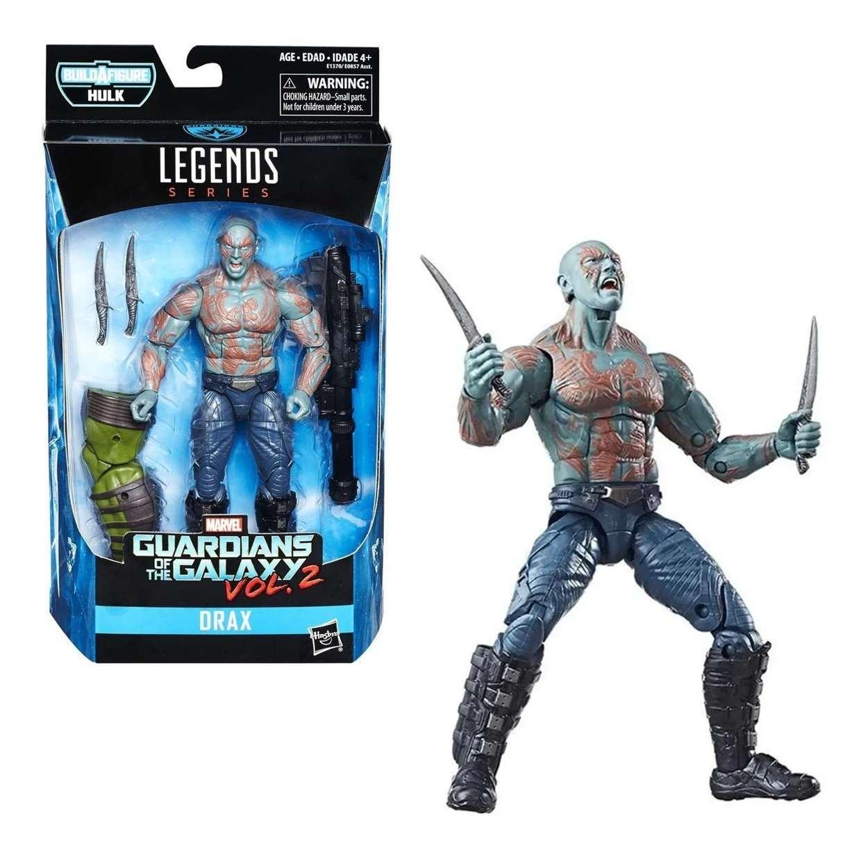 Drax Figura B A F Hulk Guardianes De La Galaxia Legends