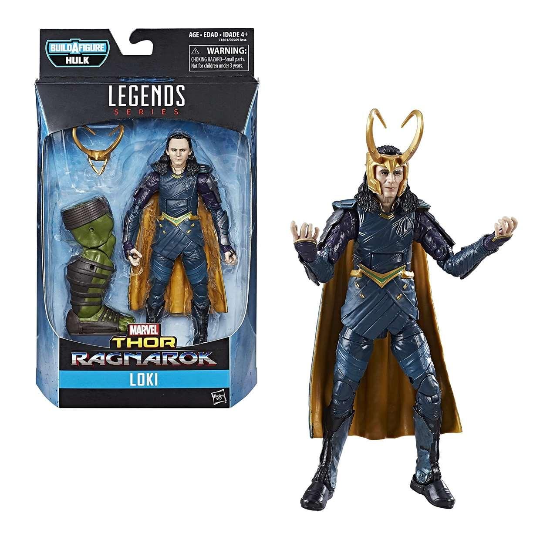 Loki Figura Marvel Thor Ragnarok B A F Hulk Legends Series