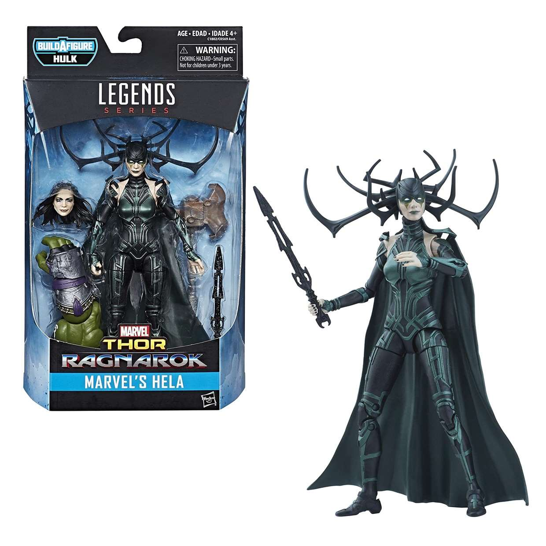 Hela Figura Marvel Thor Ragnarok B A F Hulk Legends Series