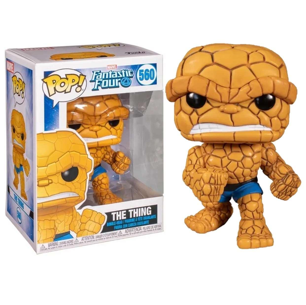 The Thing ( La Mole ) #560 Figura Fantastic Four Funko Pop!