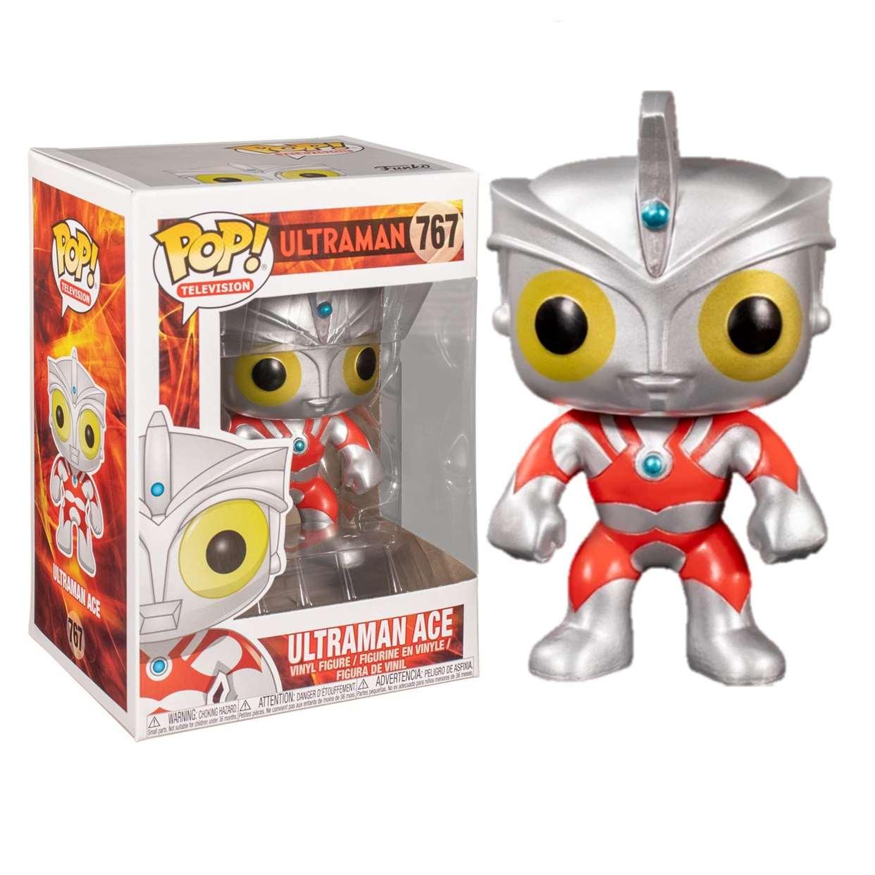 Ultraman Ace #767 Figura Ultraman Funko Pop! Televisión