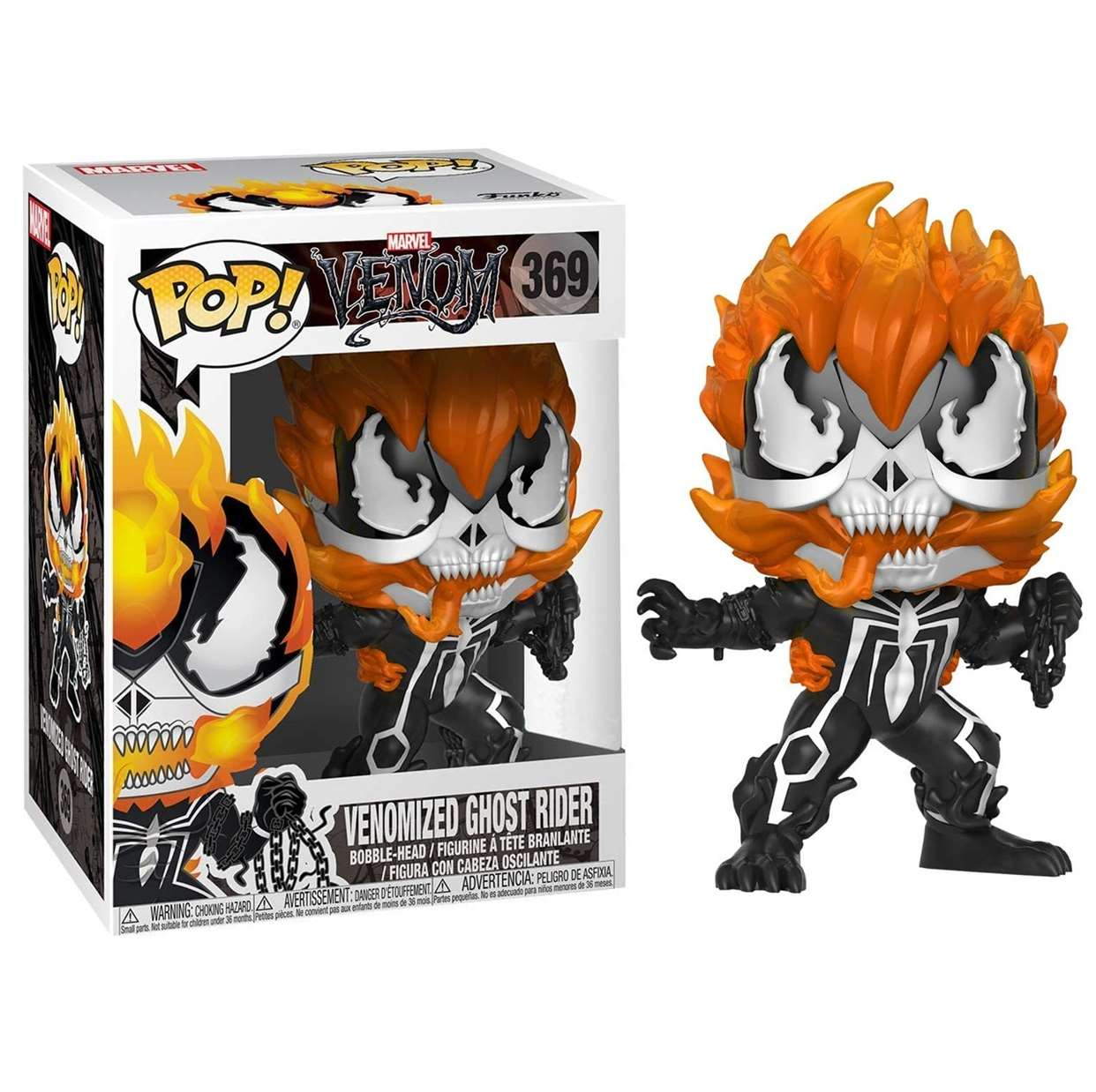 Venomized Ghost Ride #369 Figura Venom Funko Pop!
