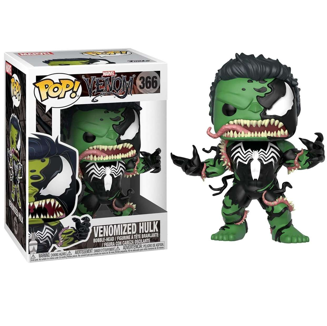 Venomized Hulk #366 Figura Marvel Venom Funko Pop!