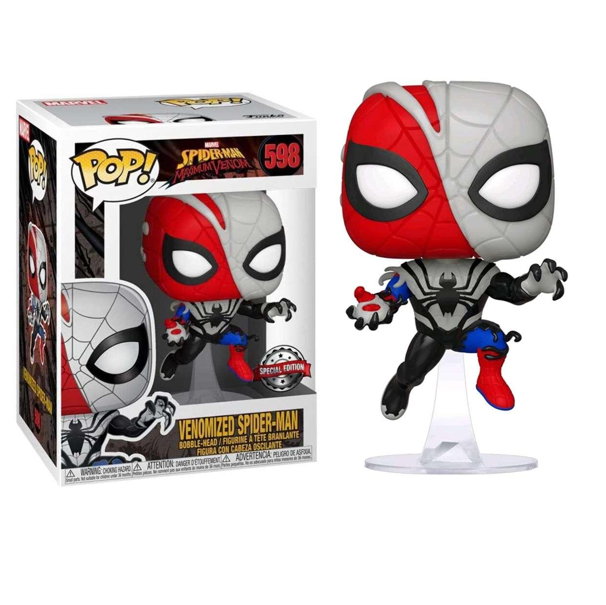 Venomized Spider Man #598 Maximum Venom Funko Pop! Exclusivo Special Edition