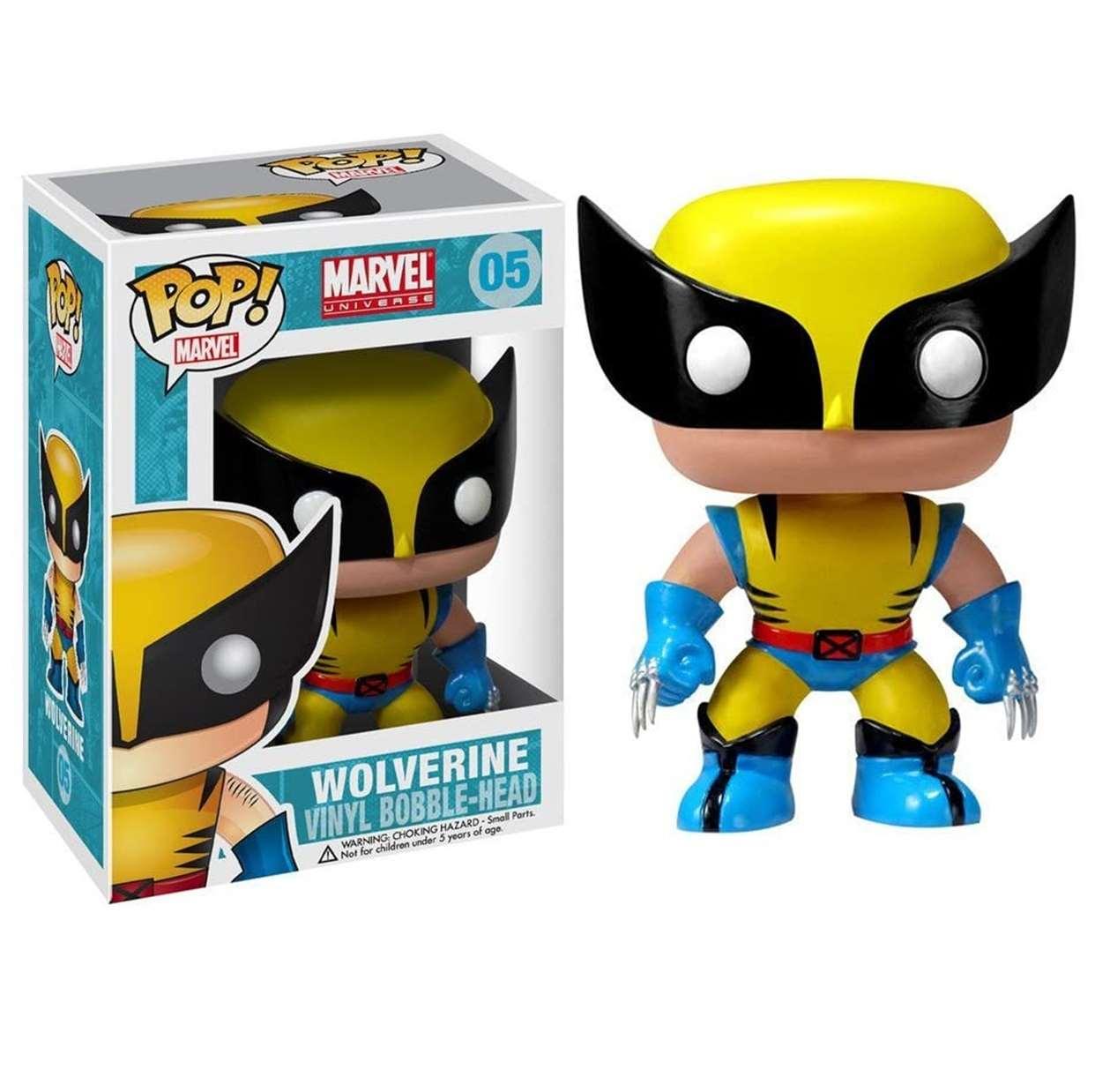 Wolverine #05 Figura X Men Funko Pop! Marvel Universe