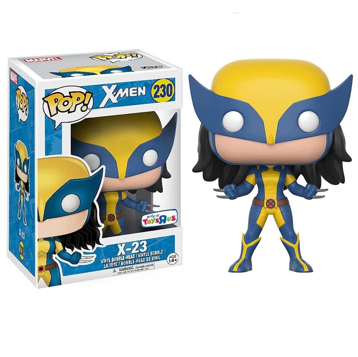 X 23 #230 Figura Marvel X Men Funko Pop! Exclusivo Toys R Us