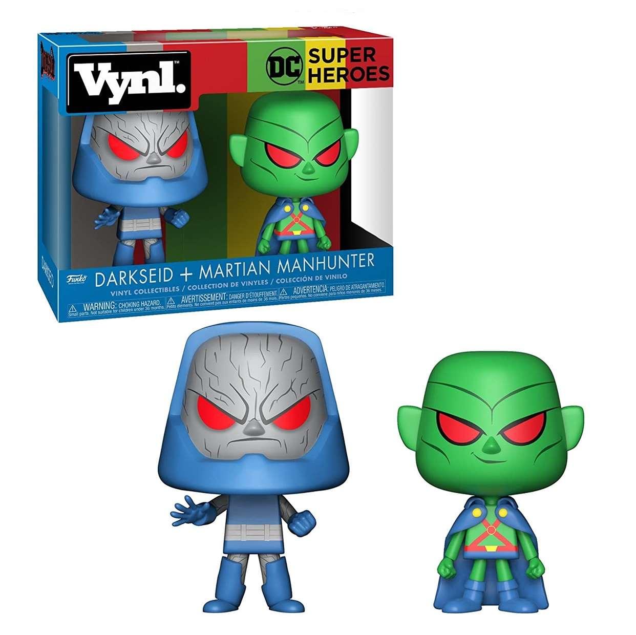Darksaid + Martian Manhunter Dc Super Heroes Funko Vynl
