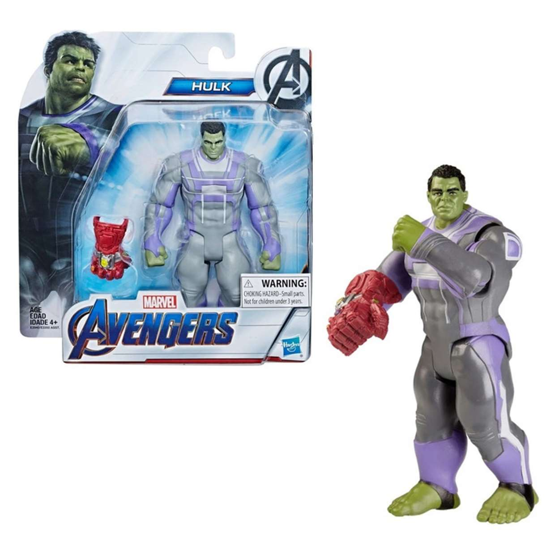 Hulk Con Guantelete Figura Marvel Avengers End Game 6 PuLG
