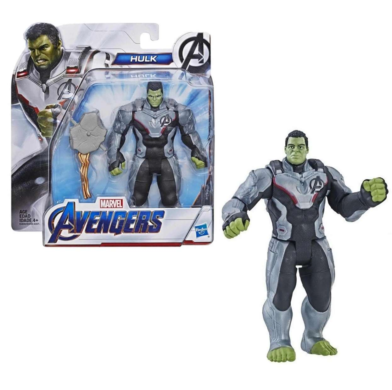 Hulk Traje Cuántico Figura Marvel Avengers End Game 6 PuLG