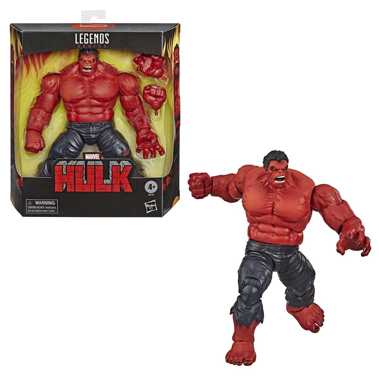 Red Hulk Figura Marvel Legends Series 6 Pulgadas