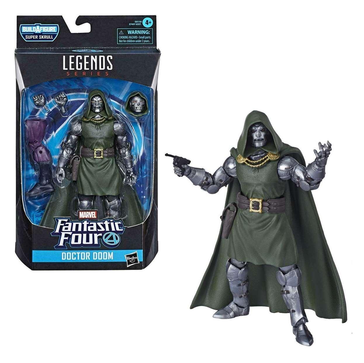 Doctor Doom Figura Fantastic Four B A F Super Skrull Legends
