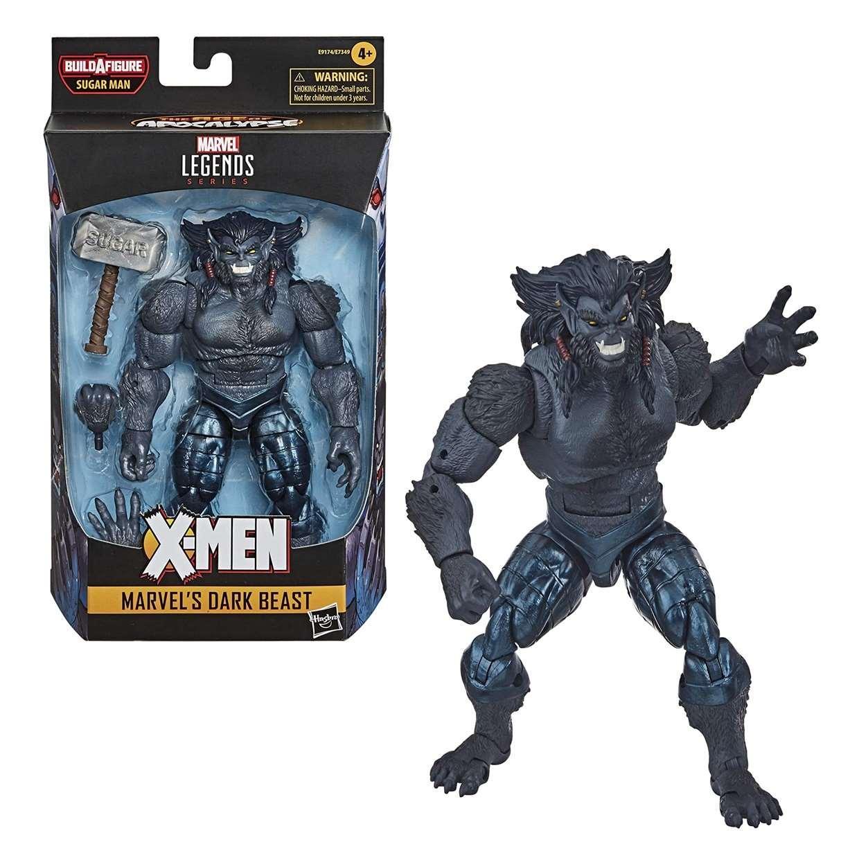 Dark Beast Figura Marvel X Men B A F Sugar Man Legend Series