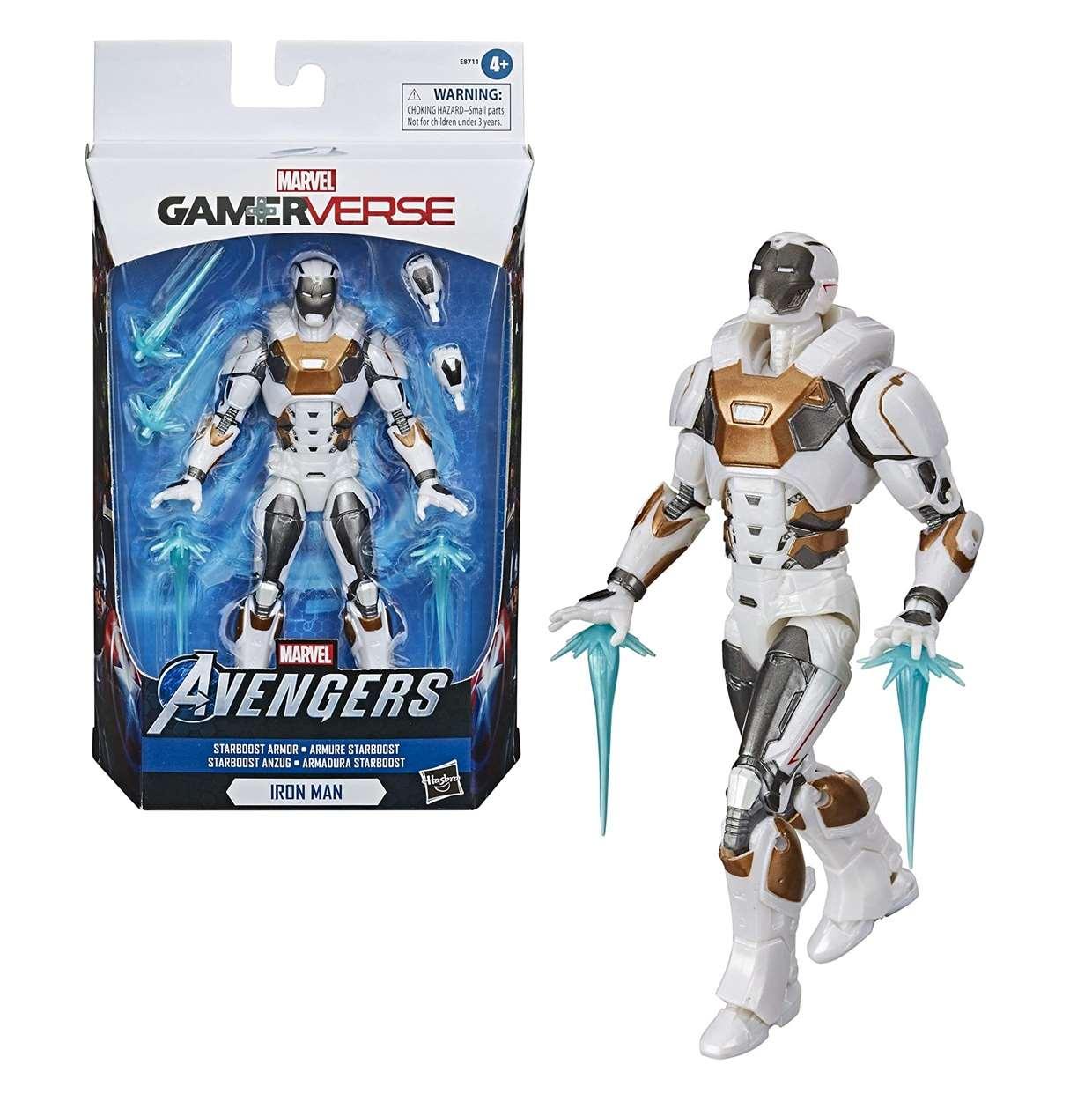 Iron Man Starboost Armor Figura Marvel Avengers Gamerverse