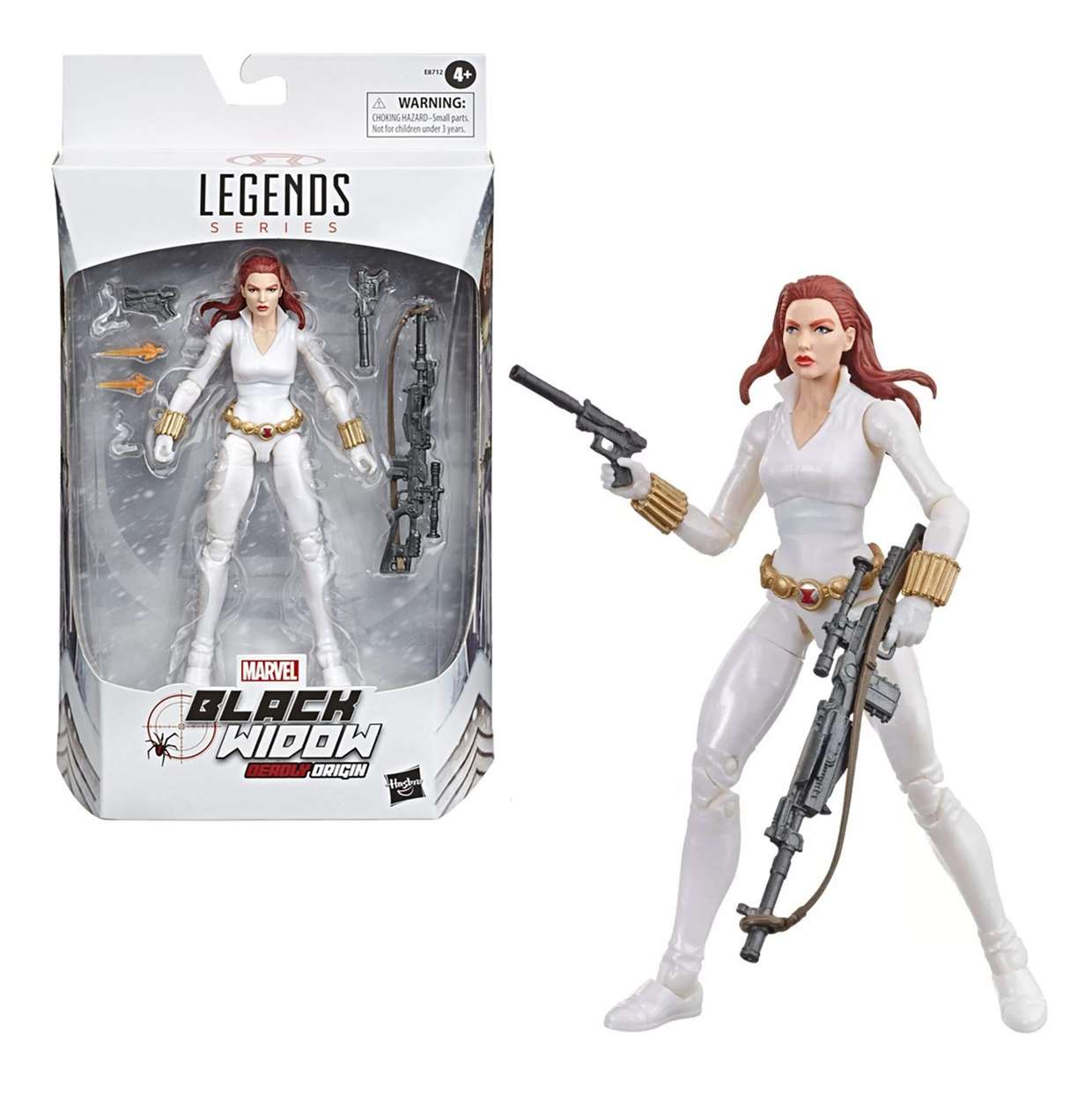 Black Widow Deroly Origin Figura Marvel Legends Series