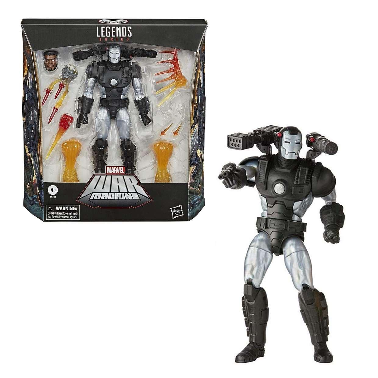 War Machine Deluxe Figura Marvel Legends Series 7 Pulgadas