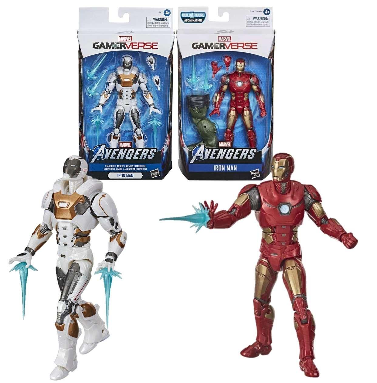 Iron Man Y Iron Man Starboost Figura Avenger Gamerverse