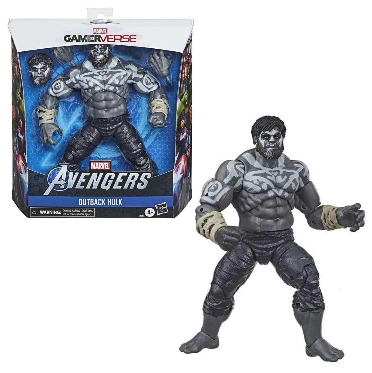 Outback Hulk Figura Marvel Avengers Gamerverse 6 Pulgadas