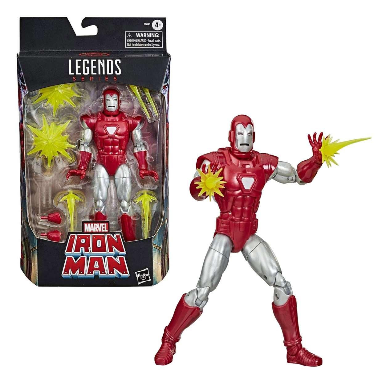 Iron Man Centurion Figura Marvel Legends 2020 6 Pulgadas