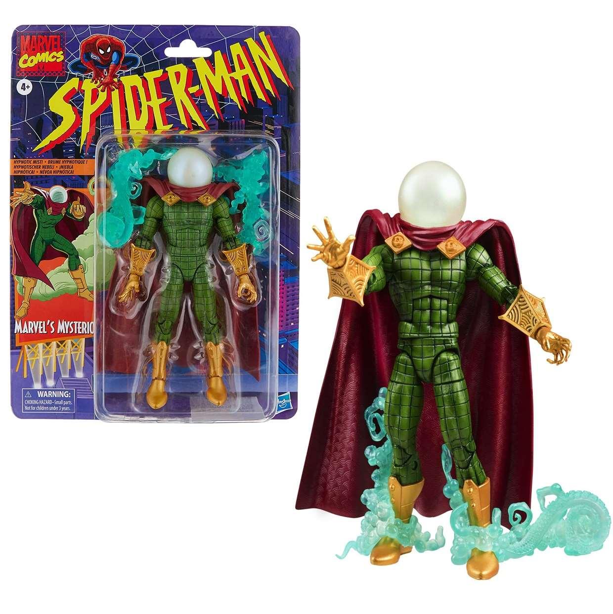 Mysterio Vintage Figura Marvel Comics Hasbro 6 Pulgadas