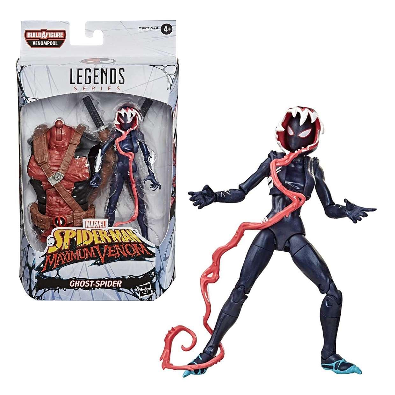 Ghost Spider Figura Spider Man B A F Venompool Maximum Venom