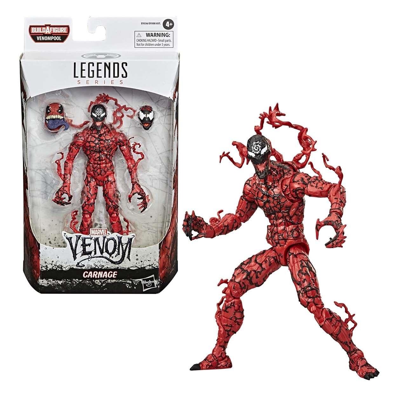 Carnage Figura Spider Man B A F Venompool Maximum Venom