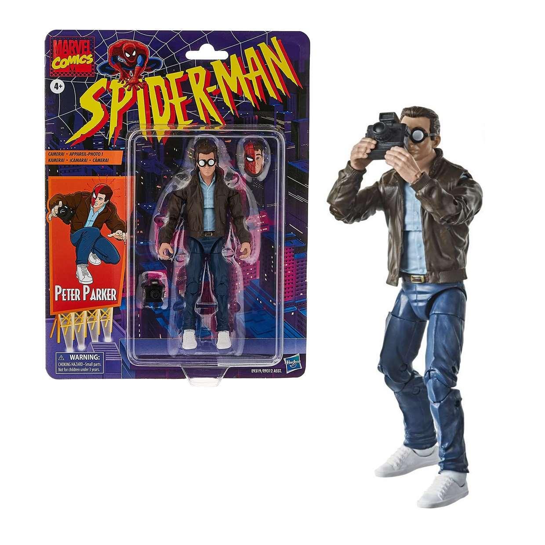 Peter Parker Vintage Figura Spider Man Marvel Comics 6 PuLG