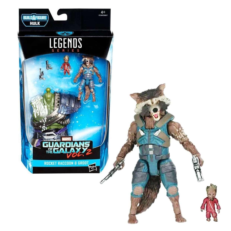 Rocket Raccoon & Groot B A F Hulk Guardianes De La Galaxia