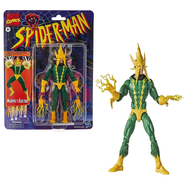Electro Vintage Figura Spider Man Marvel Comics 6 PuLG