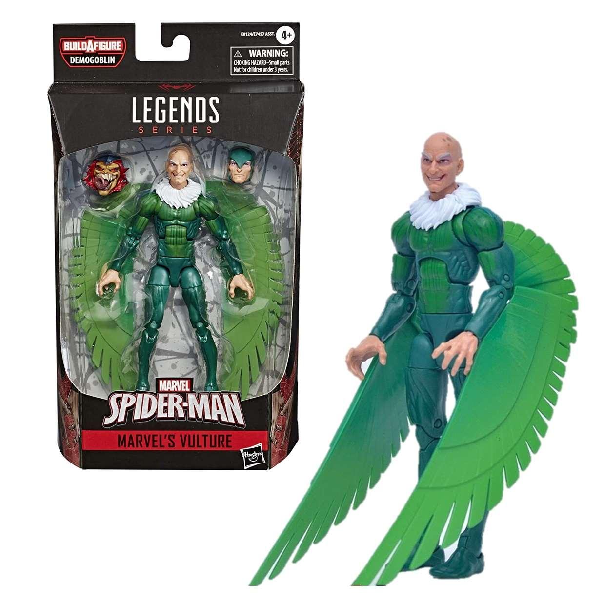 Vulture (buitre) Figura B A F Demogoblin Spider Man Legends