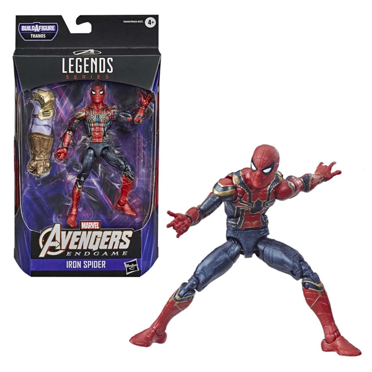 Iron Spider Figura Avengers End Game B A F Thanos Legends