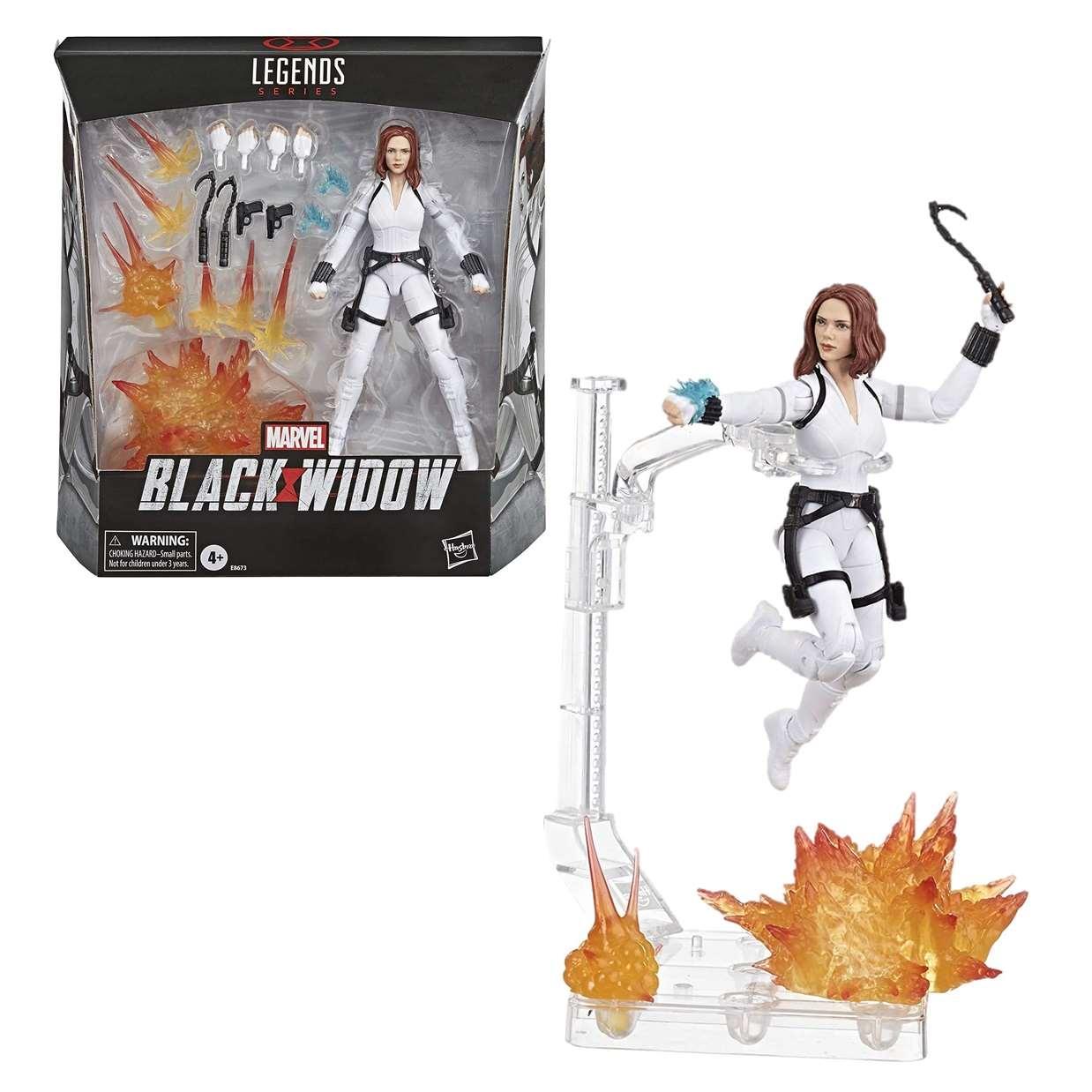 Black Widow Figura Marvel Black Widow Legends Series 6 PuLG