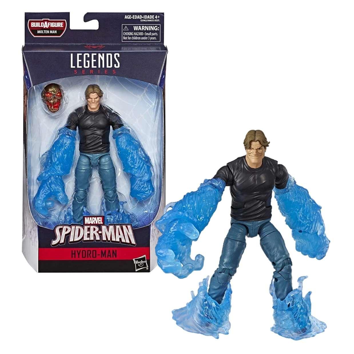 Hydro Man Figura Far From Home B A F Molten Man Legends