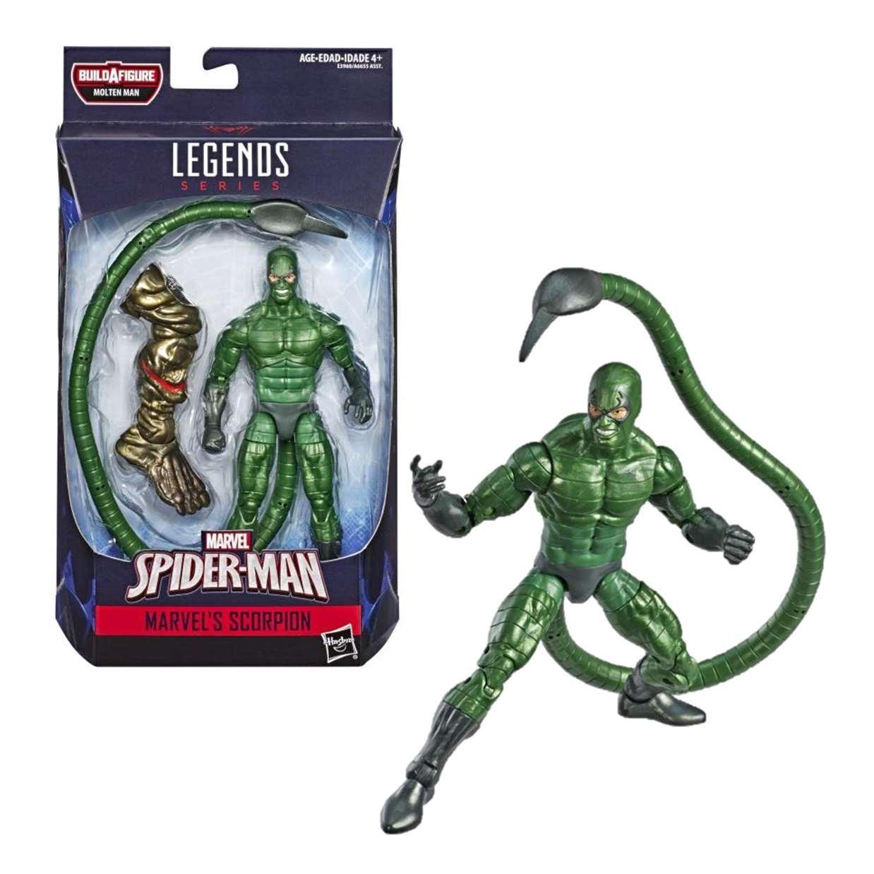 Scorpion Figura Far From Home B A F Molten Man Legends