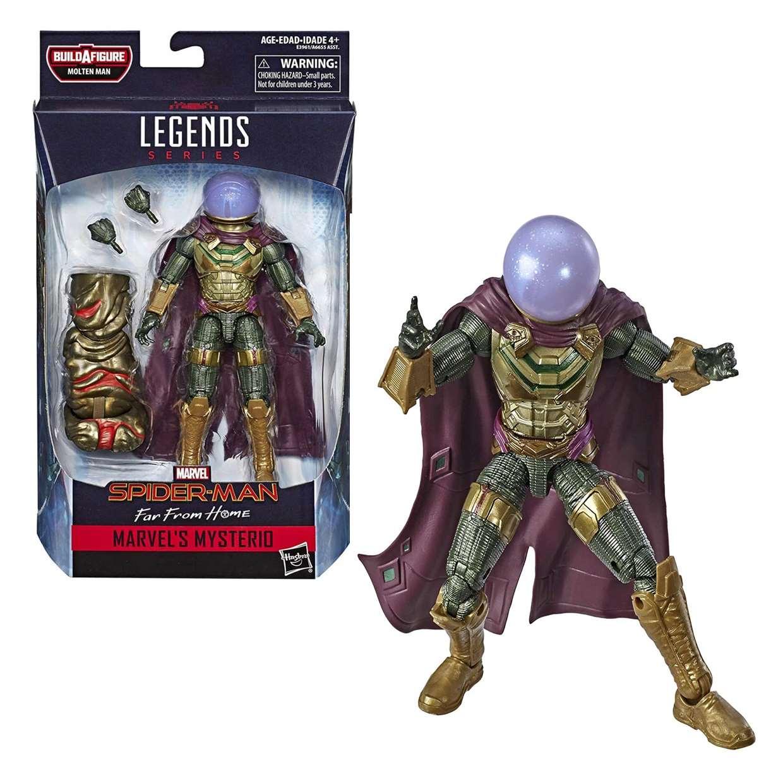 Mysterio Figura B A F Molten Man Spider Man Far From Home