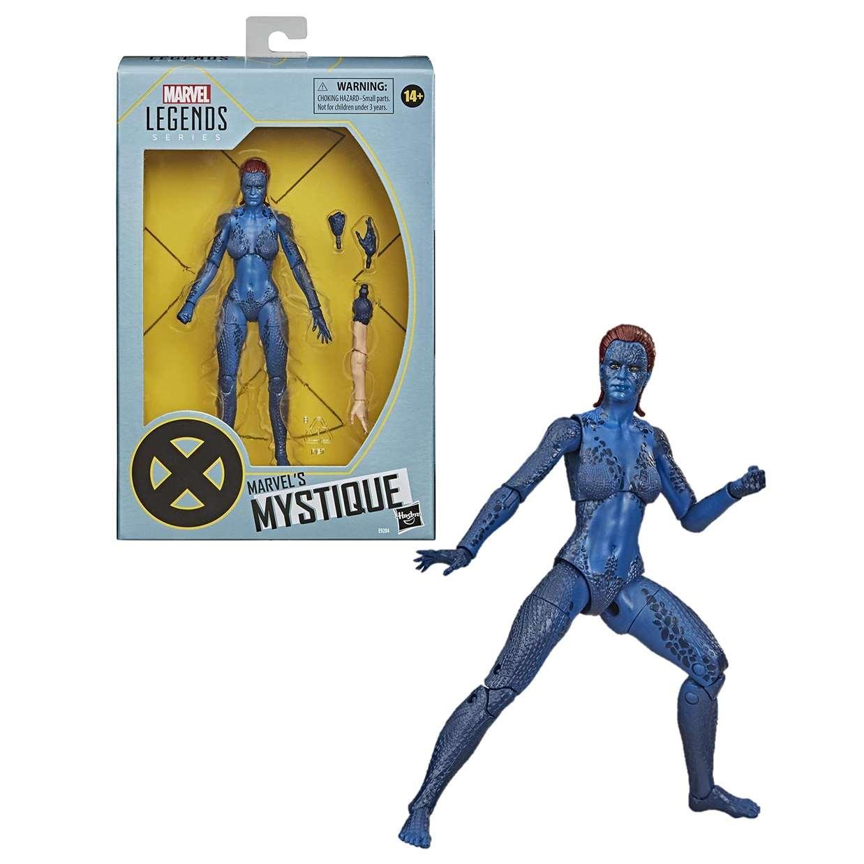Mystique Figura Marvel X Men Legends Series 6 Pulgadas