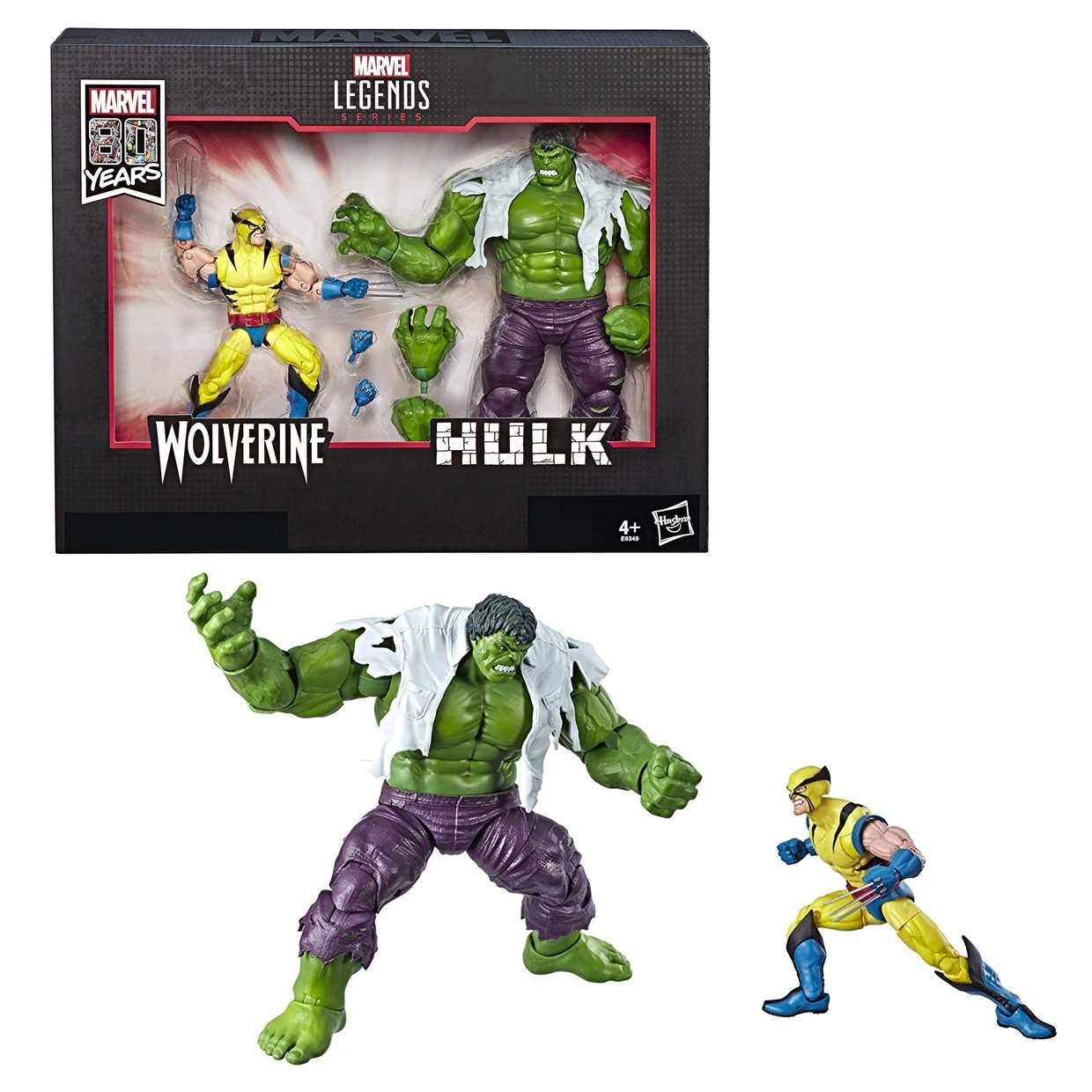 Wolverine Y The Incredible Hulk Marvel Legends 80th Years